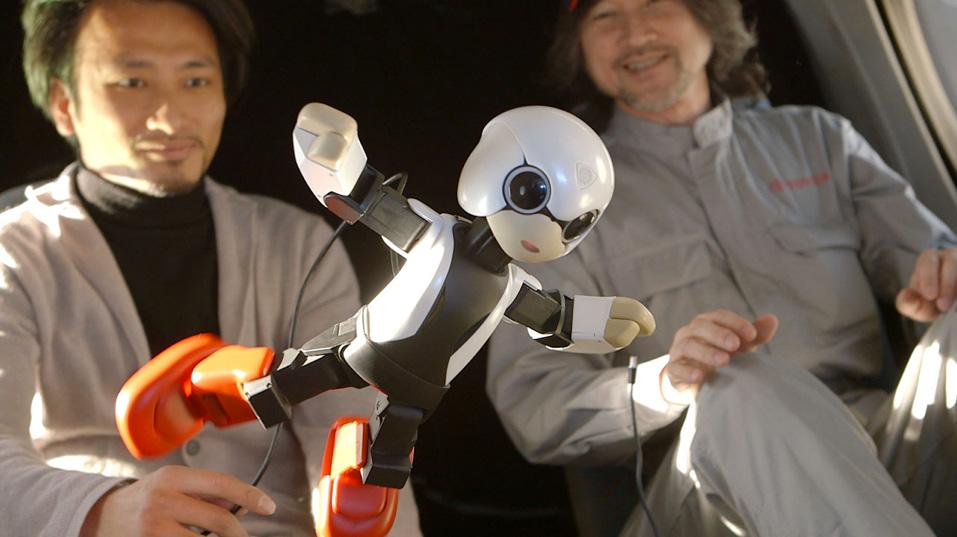 le robot japonais Kiribo