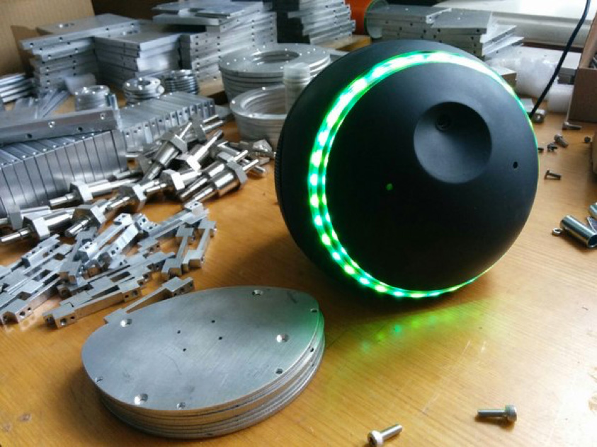 le robot russe Lexybot