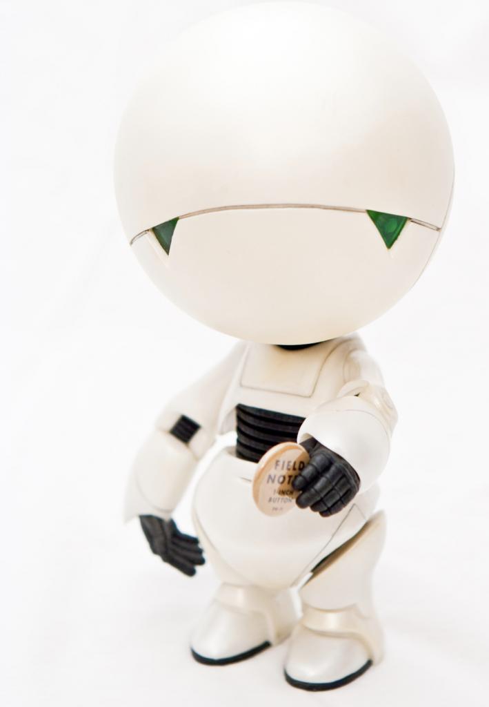 robot Marvin par Nick Olejniczak